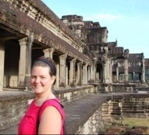 me in cambodia