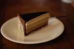 Chocolate Bavarian Cream Torte