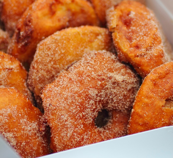 Apple Fritters in Lake Como | Sweet Escapes